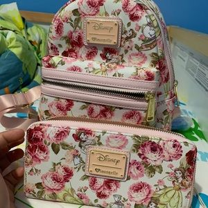 Beauty & the Beast Mini BackPack Set